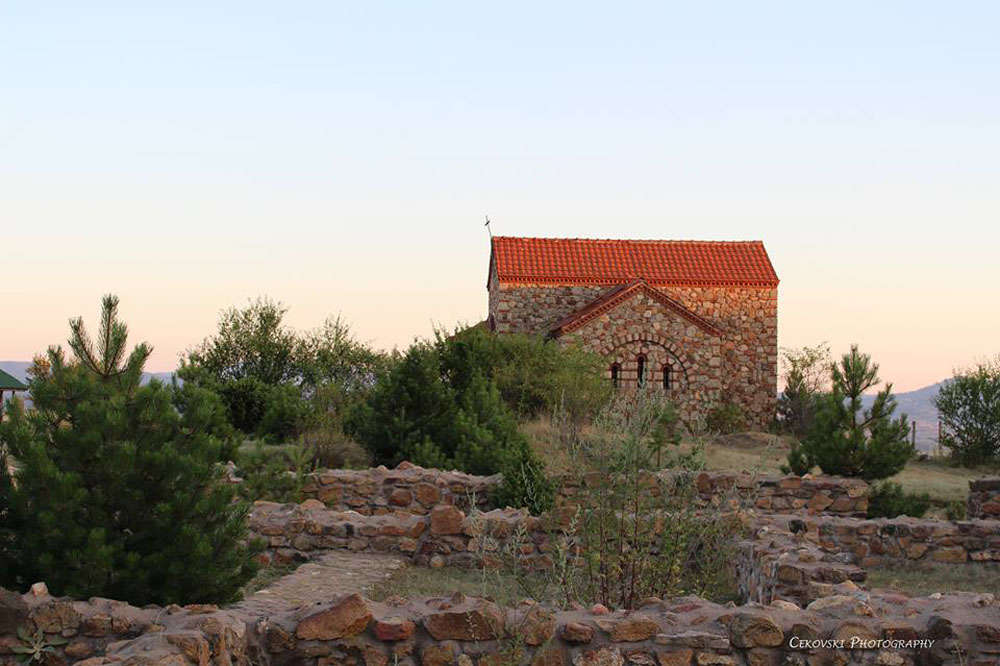 The archaeological site St. Petka